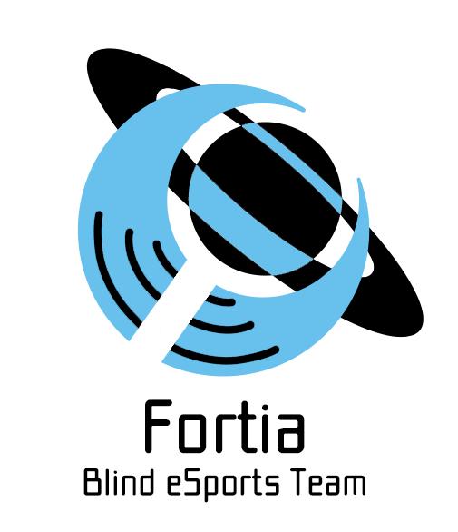 ブラインドeスポーツチームFortiaのロゴ