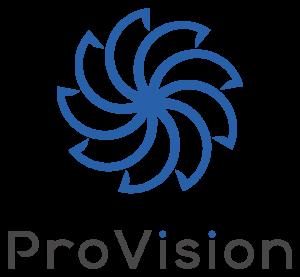 ProVisionのロゴ