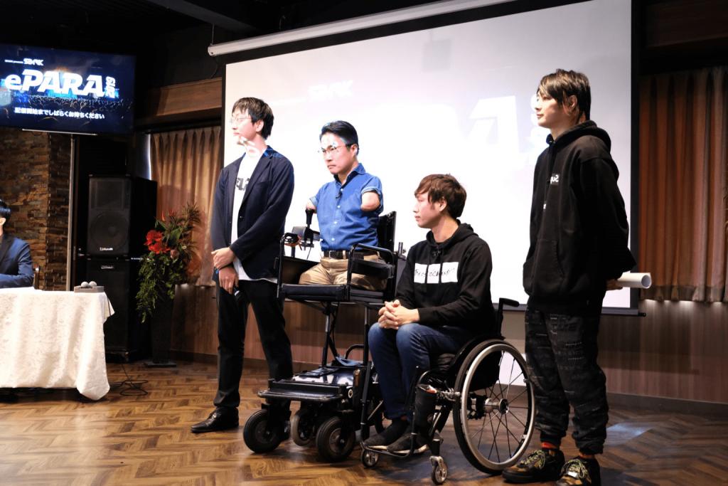 障害者eスポーツ大会ePARA2019の様子。乙武洋匡氏や寺田ユースケ氏も参加。